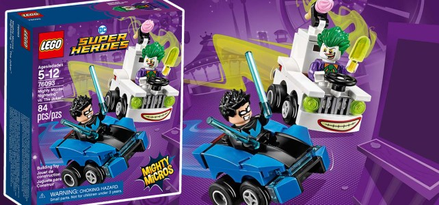 REVIEW LEGO 76093 DC Comics Mighty Micros : Nightwing vs The Joker