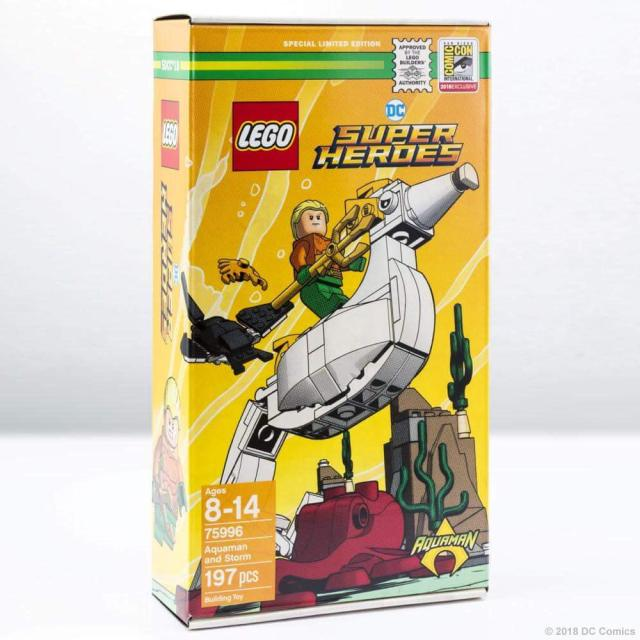 SDCC 2018 LEGO DC Comics 75996 Aquaman and Storm