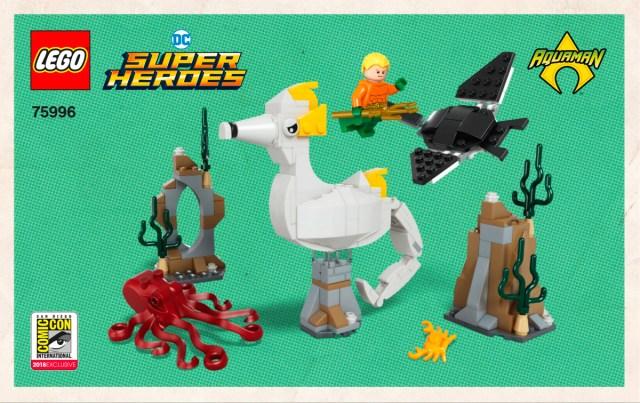 LEGO75996 Aquaman et Storm instructions