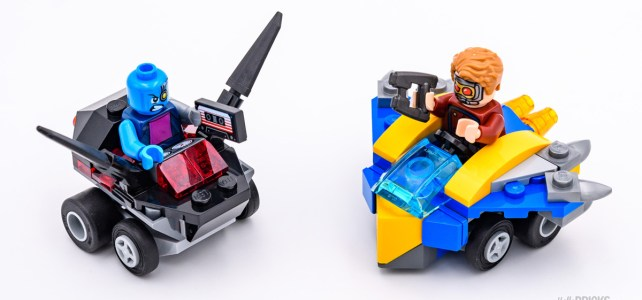 REVIEW LEGO 76090 Marvel Mighty Micros : Star-Lord vs Nebula