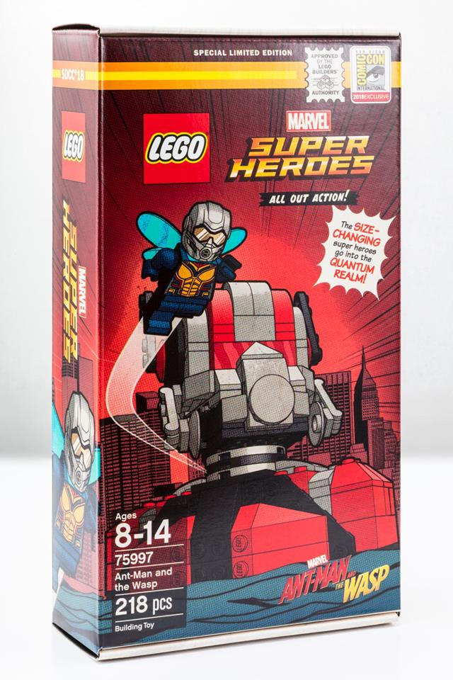 SDCC 2018 LEGO Marvel 75997Ant-Man and the Wasp