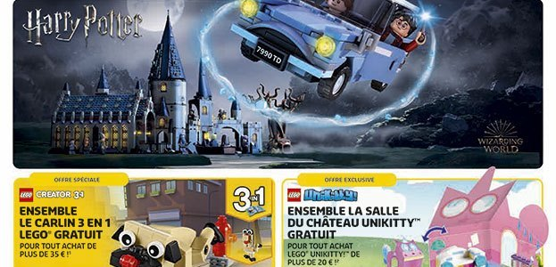 Store Calendar LEGO Aout