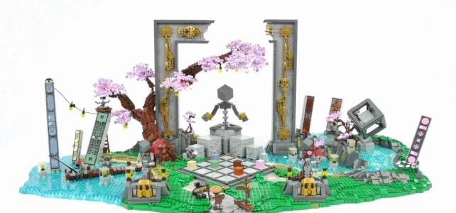 Cubisme LEGO et art