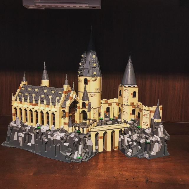 LEGO Poudlard 75954 75953 Harry Potter