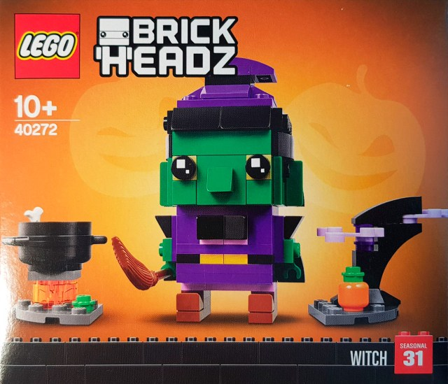 LEGO 40272 Seasonal BrickHeadz Witch