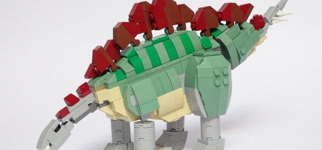 LEGO Stegosaurus