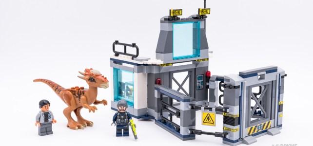 REVIEW LEGO 75927 Stygimoloch Breakout Jurassic World
