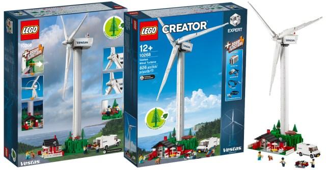 Chez LEGO : le set LEGO Creator Expert 10268 Vestas Wind