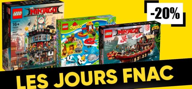 Jours FNAC LEGO Ninjago DUPLO