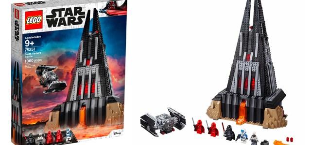 Nouveauté LEGO Star Wars 75251 Darth Vader's Castle : les visuels officiels !