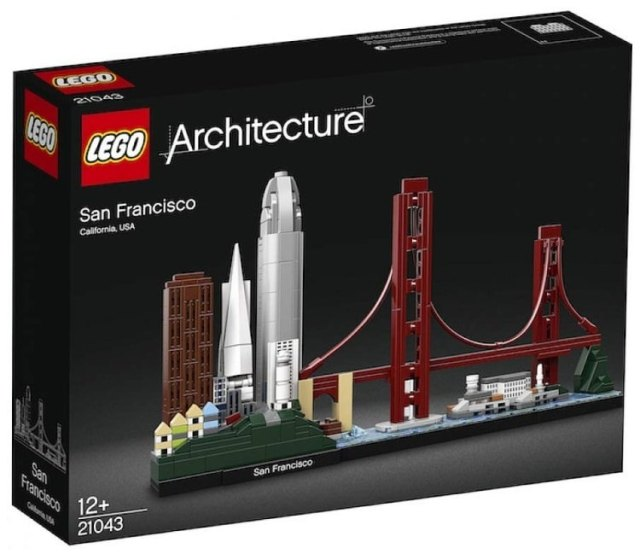 LEGO Architecture 2019 21043 San Francisco