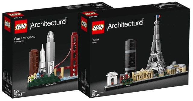 LEGO Architecture 2019 Paris San Francisco