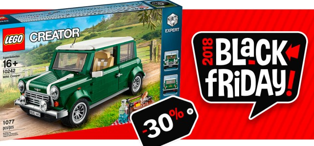 Black Friday 2018 chez LEGO : -30% sur le set LEGO Creator Expert 10242 MINI Cooper