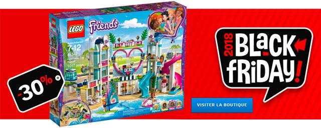 LEGO Black Friday 2018 LEGO Friends 41347 Heartlake City Resort