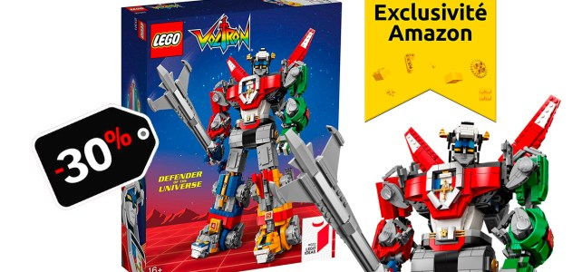 Promo LEGO Ideas 21311 Voltron Amazon