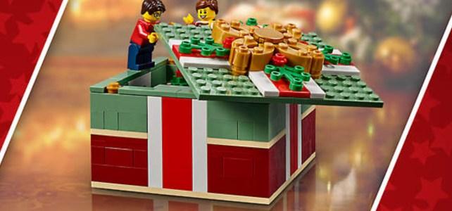 Chez LEGO : retour du cadeau 40292 Christmas Gift offert dès 85€ d'achat