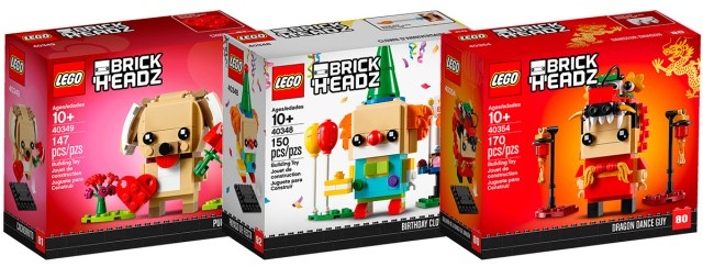 LEGO BrickHeadz 2019