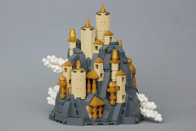 LEGO Chateau microscale