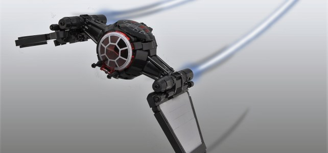 LEGO First Order TIE Fighter prototype