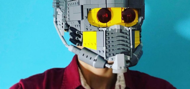 LEGO Star Lord mask