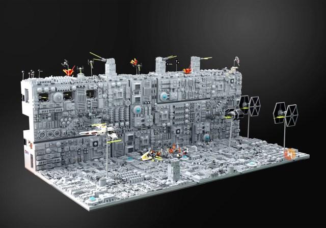 LEGO Star Wars Death Star recto