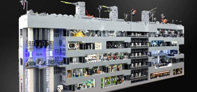 LEGO Star Wars Death Star verso