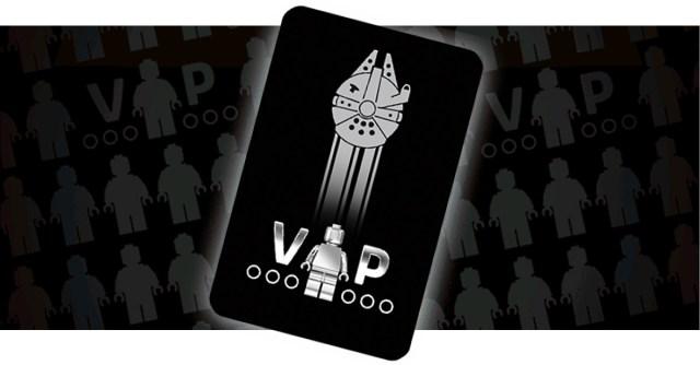 LEGO VIP Black Card