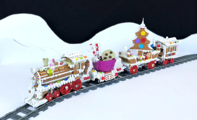 LEGO train Gingerbread Express