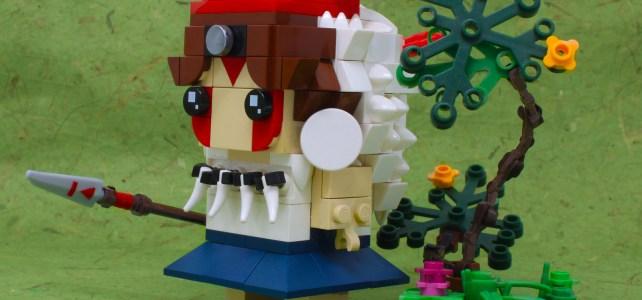 Princesse Mononoke LEGO BrickHeadz