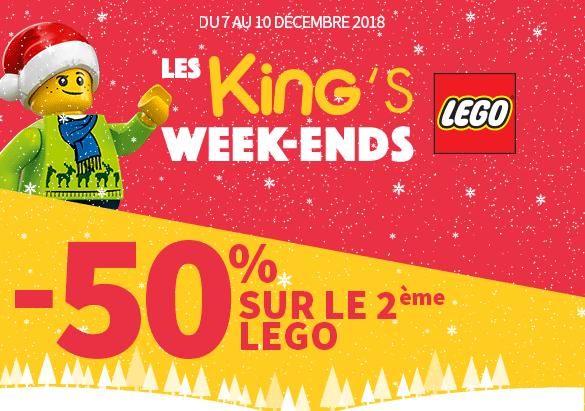 Promo King jouet LEGO Kings Weekends