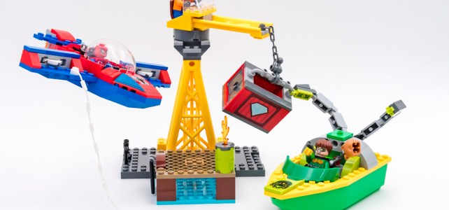 REVIEW LEGO 76134 Spider-Man Doc Ock Diamond Heist