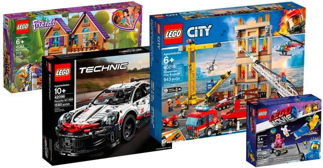 Chez LEGO : les premières nouveautés LEGO 2019 sont