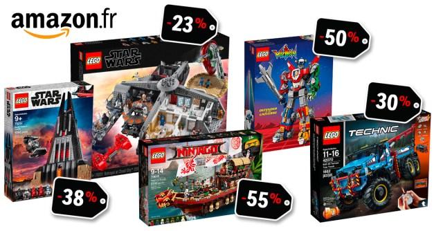 ventes flash LEGO Amazon promos