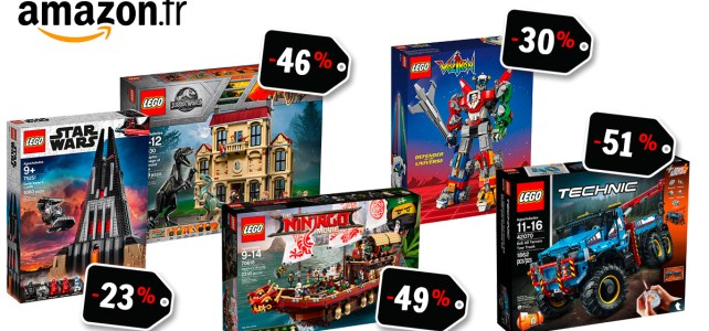 ventes flash LEGO Amazon