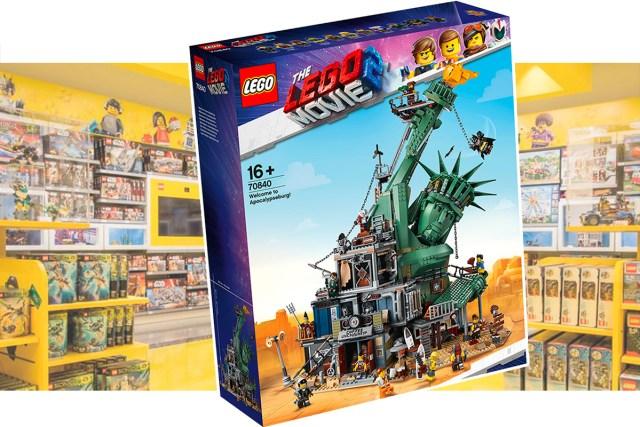 Dédicace LEGO Movie 70840 Apocalypseburg