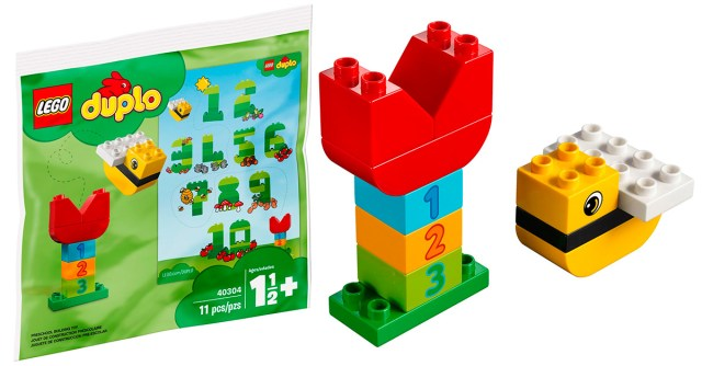 DUPLO LEGO 40304 Learning Numbers