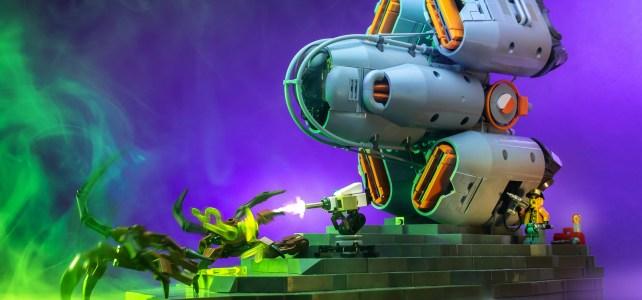 LEGO Starship Pit stop