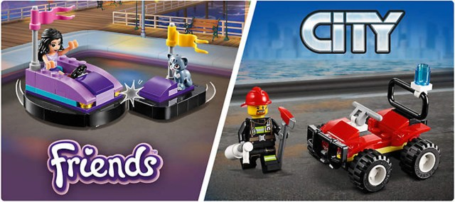 polybags LEGO promo choose your gift