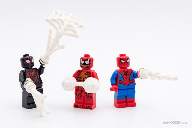 REVIEW LEGO 76113 Spider-Man Bike Rescue