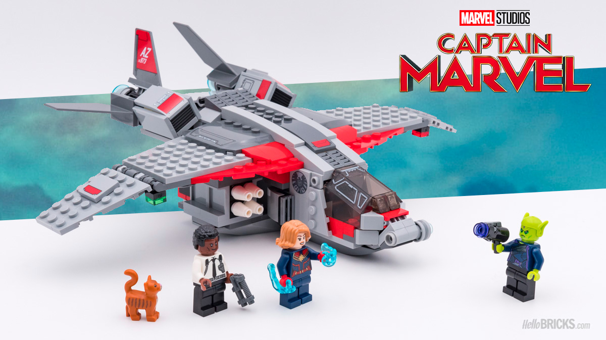 Captain Marvel Skrull And Lego 76127 The Review Attack Hellobricks Y67gybf
