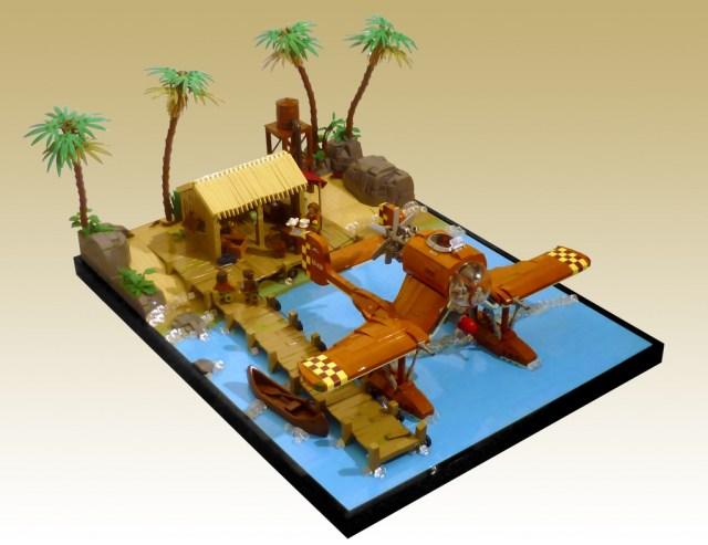 LEGO Coastal Base