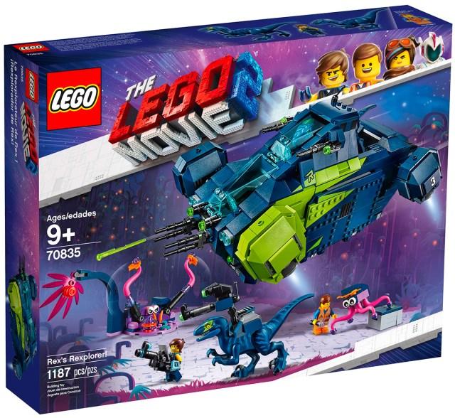 REVIEW LEGO 70835 Rex's Rexplorer (The LEGO Movie 2)