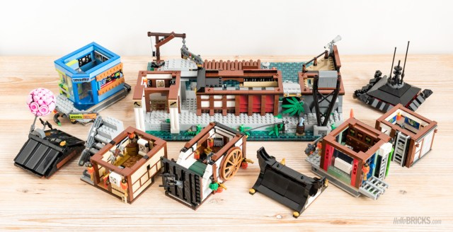 Review LEGO 70657 Ninjago City Docks