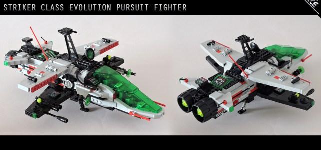 Space Police II Striker class evolution