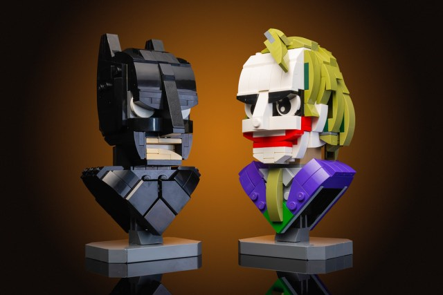 Batman and The Joker LEGO busts