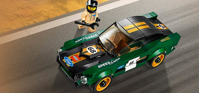 Ford Mustang Fastback 1968 LEGO Speed Champions offerte