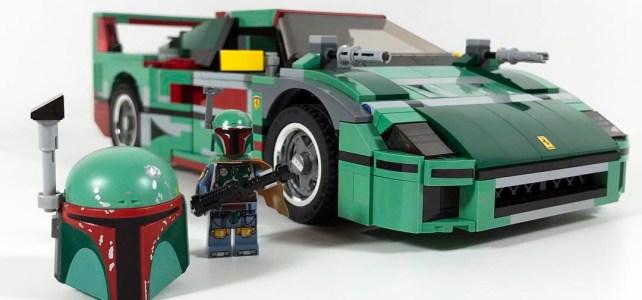 LEGO SW Ferrari F40 Boba Fett