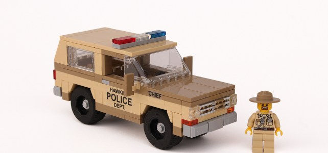 Stranger Things - Sheriff Hopper, Hawkins Police