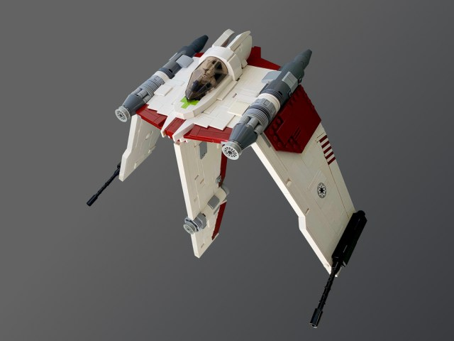 V-19 Torrent starfighter Star Wars The Clone Wars