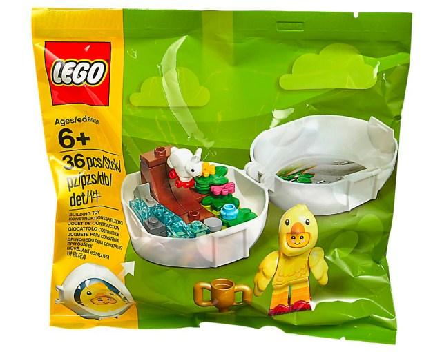 new LEGO 853958 Seasonal Easter Skater Chicken Pod